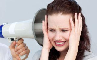 Причины и лечение шума в голове и в ушах