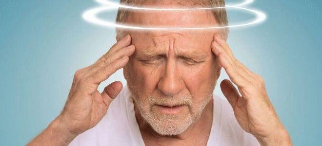 Препараты от головокружения для пожилых людей