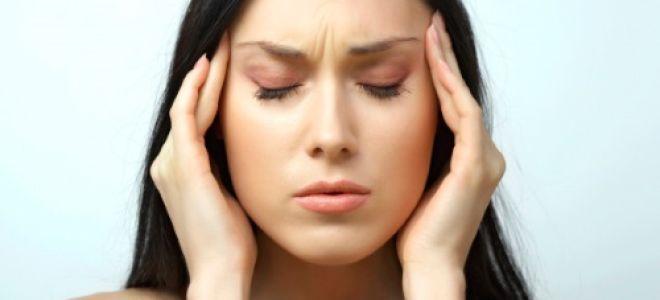 Проявление мигрени без ауры