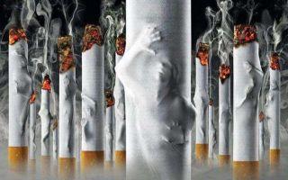 Причины головокружения во время или после курения