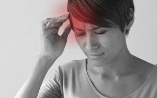 Головная боль в правой части головы