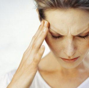 область боли при мигрени