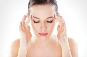 точки боли при мигрени