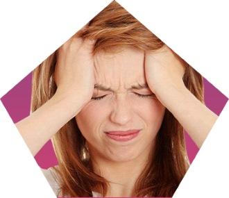область головной боли напряжения