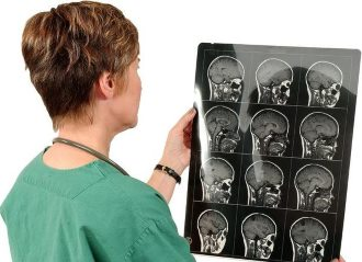 снимок при сосудистой энцефалопатии мозга