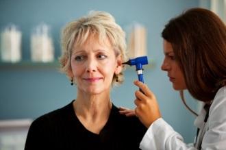 обследование уха
