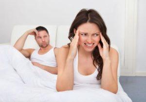 Головная боль у женщин