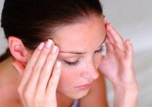 Сильное ощущение головной боли