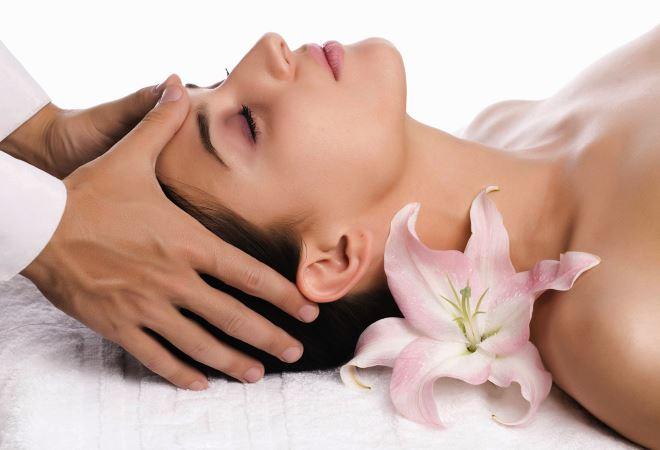 Точечный массаж от головной боли