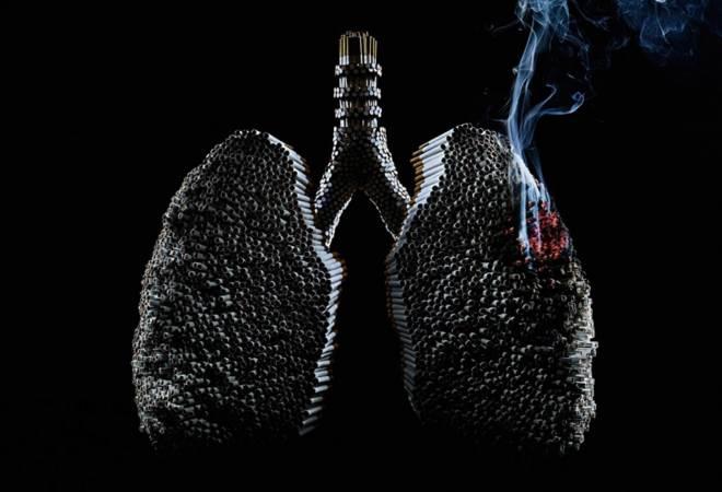 Влияние никотина на легкие